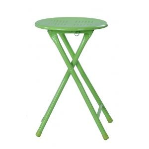 Portable metal stack stools