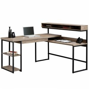 L-Shaped Swivel Desk,
